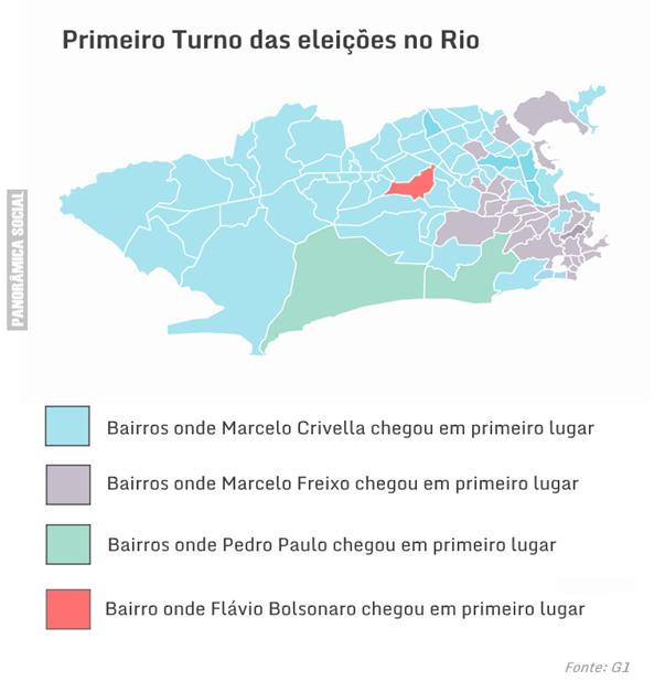 mapa eleitoral
