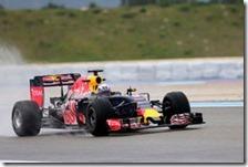 Daniel Ricciardo nei test del Paul Ricard