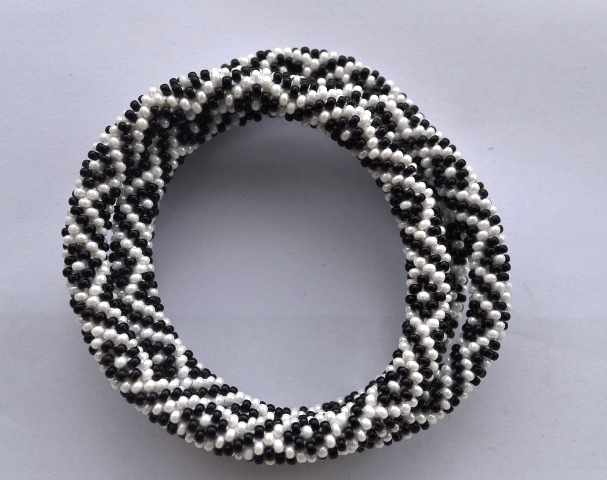 Glass Bracelets Diamond pattern