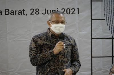 """Mahfudz Abdurrahman Hadiri Sosialisasi """"Membangun Integrasi Ekosistem Untuk Ultra Mikro"""""""