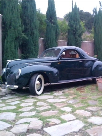 1938 Lincoln Zephyr Coupe Hire CA