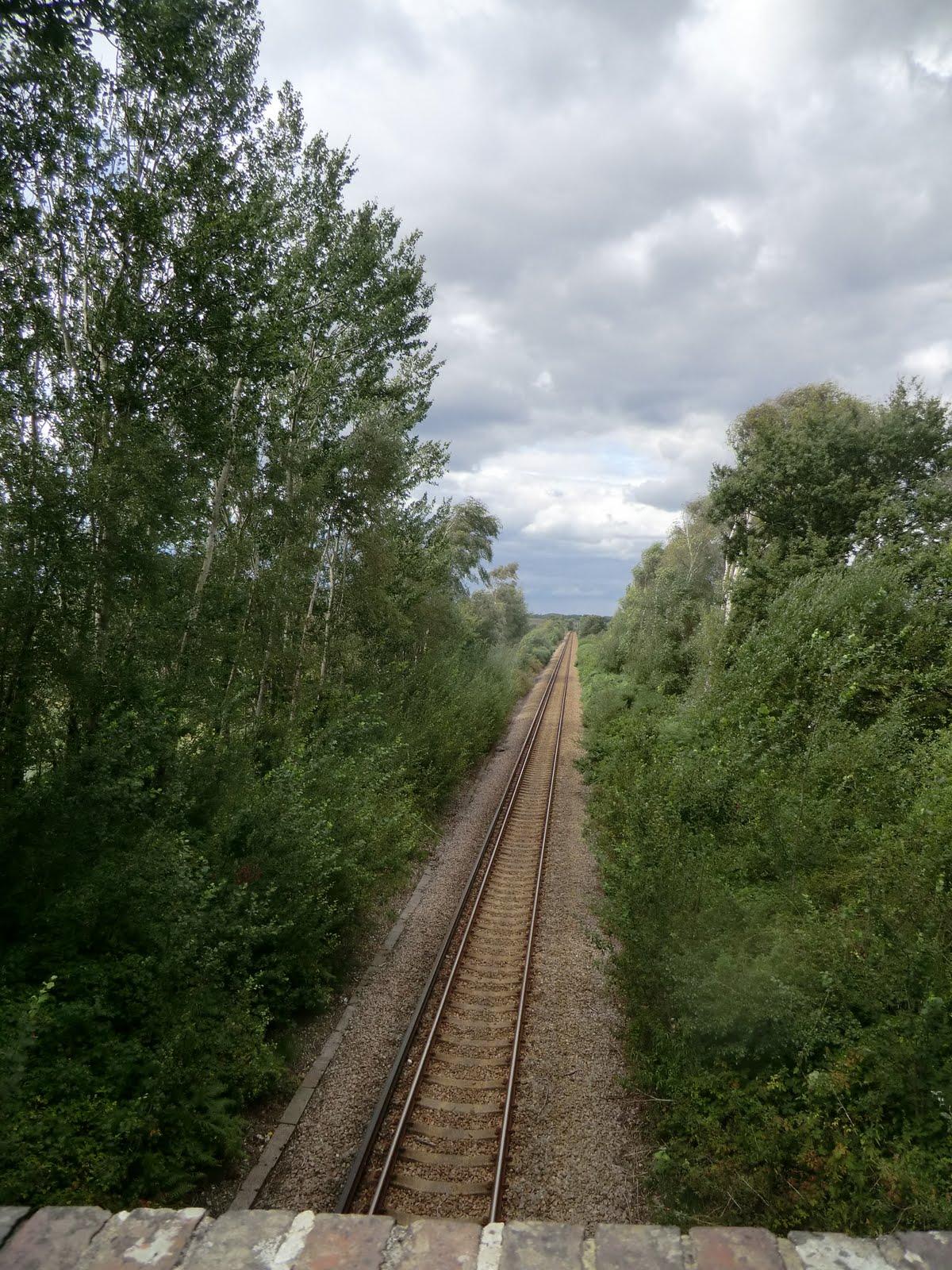 CIMG4330 Crossing the Lymington branch line