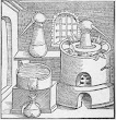 The Distillatory Furnace Taken From Geber Works London 1678