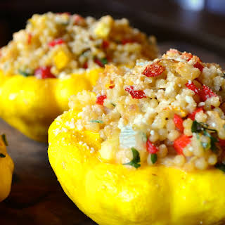 Stuffed Patty-Pan Squash.