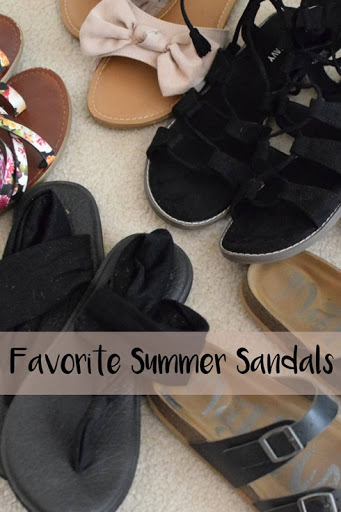 Favorite Summer Sandals