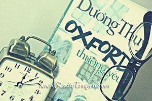 Oxford thương yêu - Dương Thụy