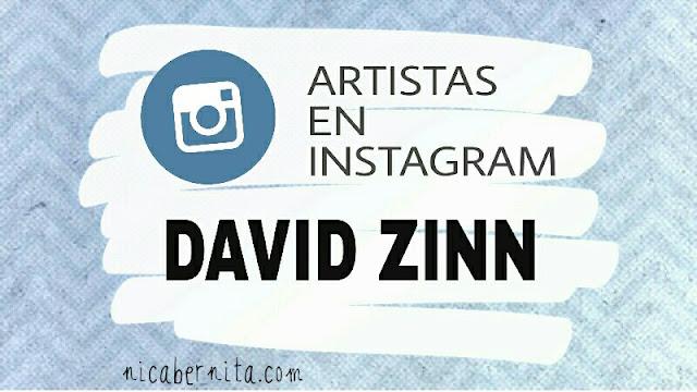 Artistas y artesanos en Instagram (David Zinn) Nica Bernita