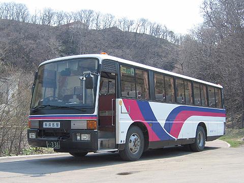 斜里バス 三菱エアロミディ 331