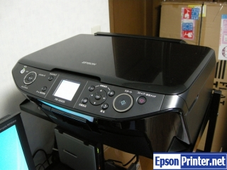 How to reset Epson PM-A840S printer