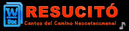 Cantos del Camino Neocatecumenal en formato doc para Word
