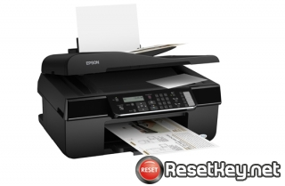 Reset Epson ME-620F printer Waste Ink Pads Counter