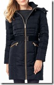 Phase Eight Smart Fur Trim Puffa Coat