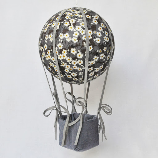 Montgolfière Liberty Mitsi gris