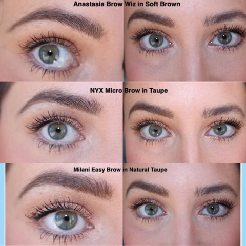 Blogging With Amanda Bells Battle Of The Brows Nyx V