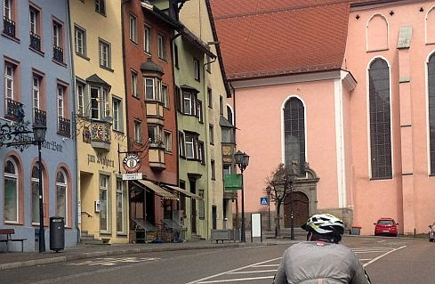 Miri on the Bike in Rottweil am Neckar