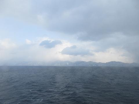 津軽海峡フェリー「ブルーマーメイド」 津軽海峡航行中 その2