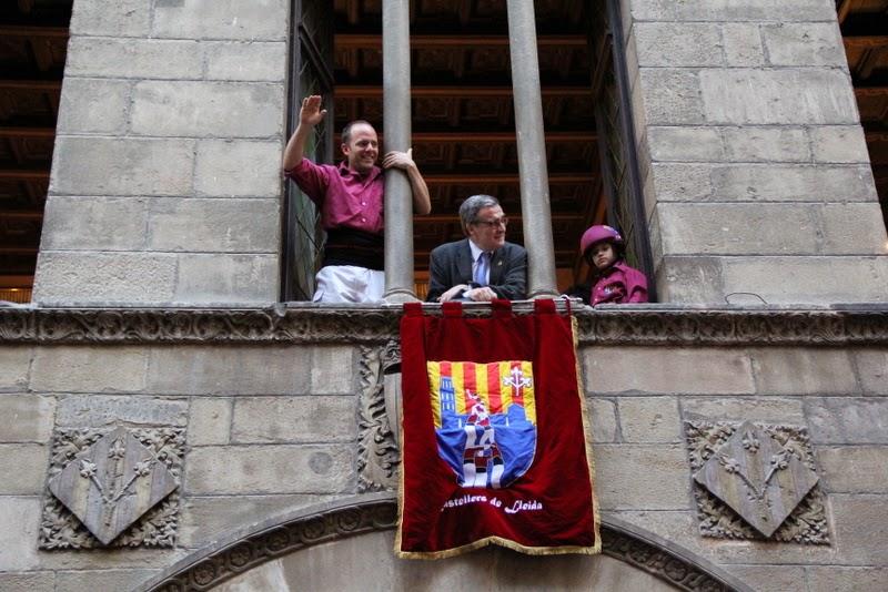 19è Aniversari Castellers de Lleida. Paeria . 5-04-14 - IMG_9625.JPG