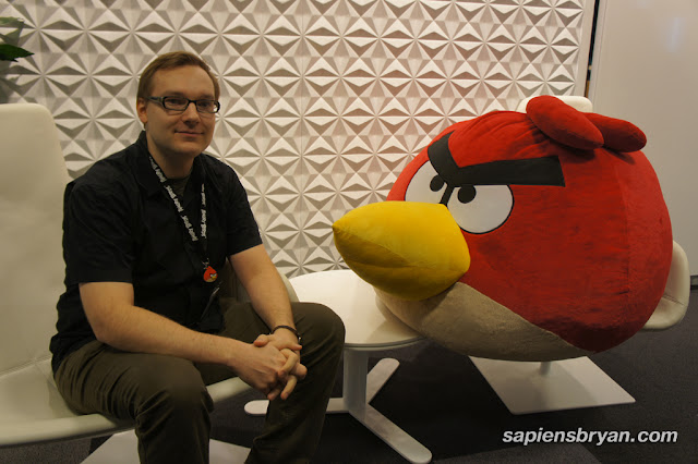 Jaakko Iisalo, the father of Angry Birds game, and Mr. Angry Birds.