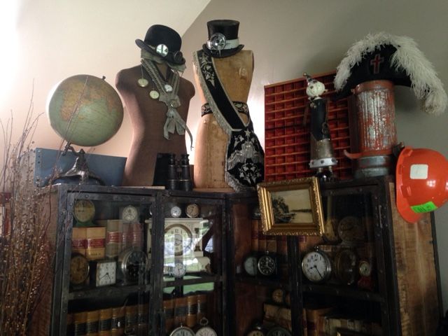 pollyanna reinvents industrial and steampunk decor tour