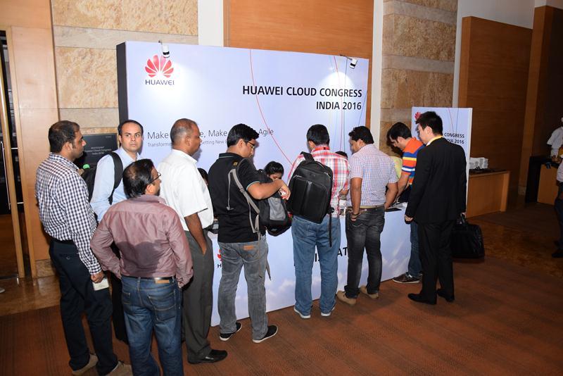 Huawei Cloud Congress India 2016 - 17