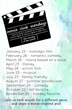 MovieClub-Mondays-schedule