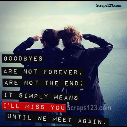 Goodbye is not Forever  Image - 4