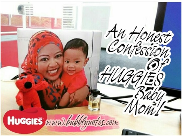 An Honest Confession Of HUGGIES Baby Mom!