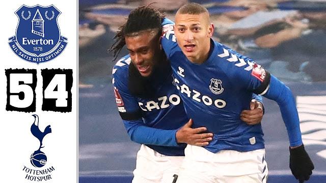 Everton Singkirkan Tottenham Dari Piala Fa 2021.