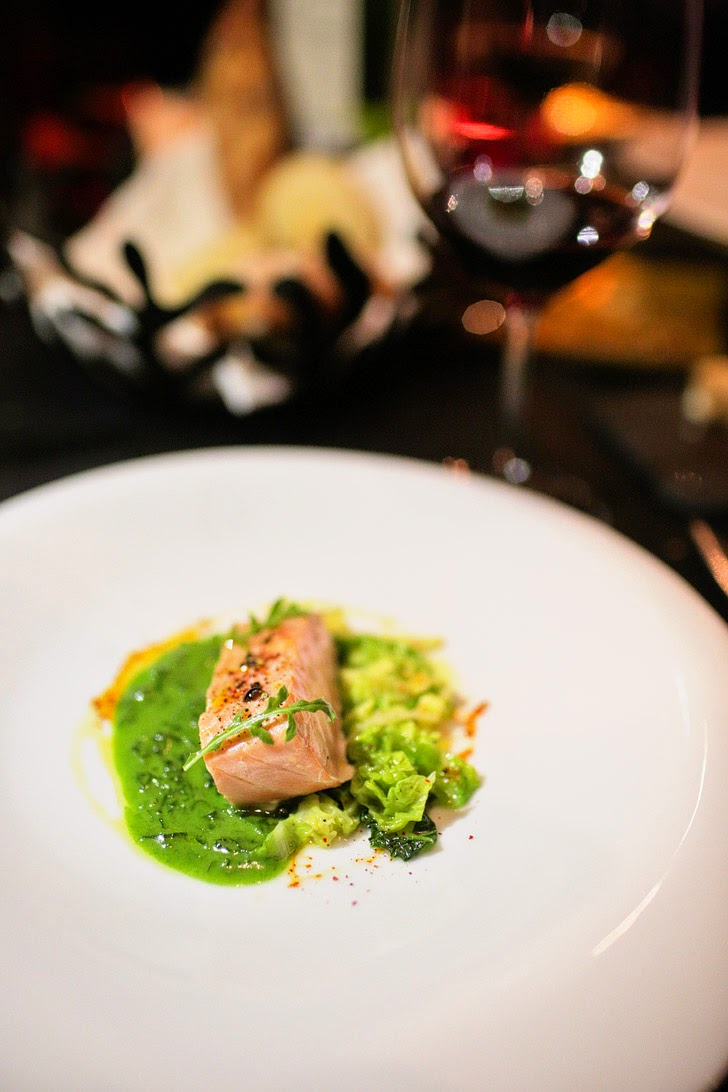 Le Saumon - L'Atelier de Joel Robuchon Las Vegas Fine Dining.