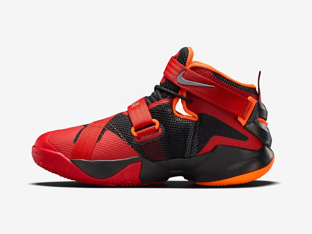 ... Nike LeBron Soldier 9 Gets a New Colorway Just For Kids ...