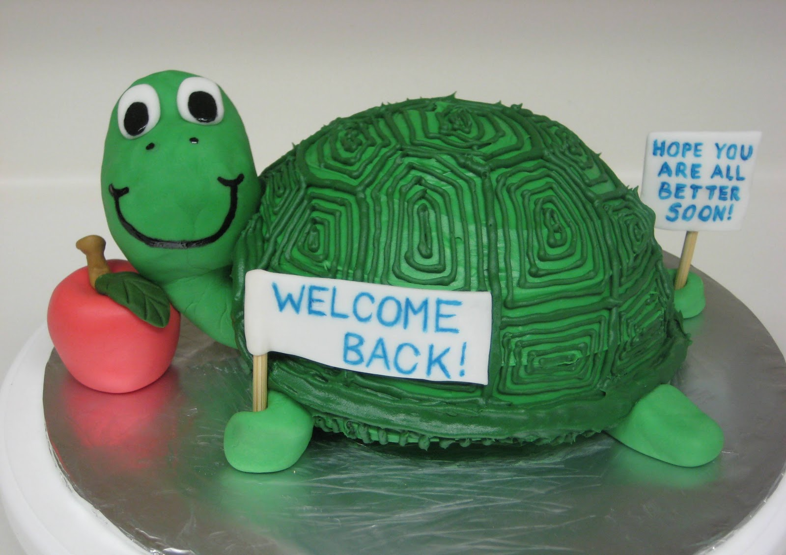 My Cake Corner A Turtle Treat for a Terrific Teacher October 2008
