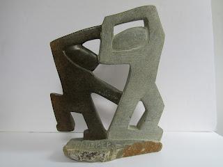 Signed, Modernist Stone Sculpture