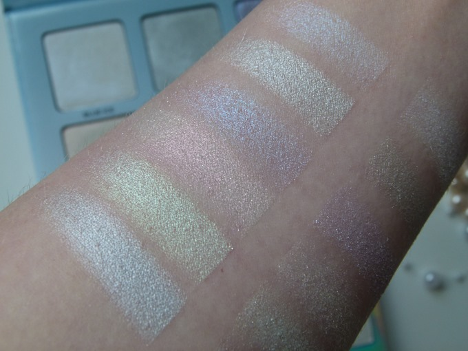 Anastasia Beverly Hills Moon Child Glow Kit Swatches