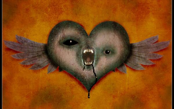 Scary Winged Heart For Dn, Symbols And Emblems