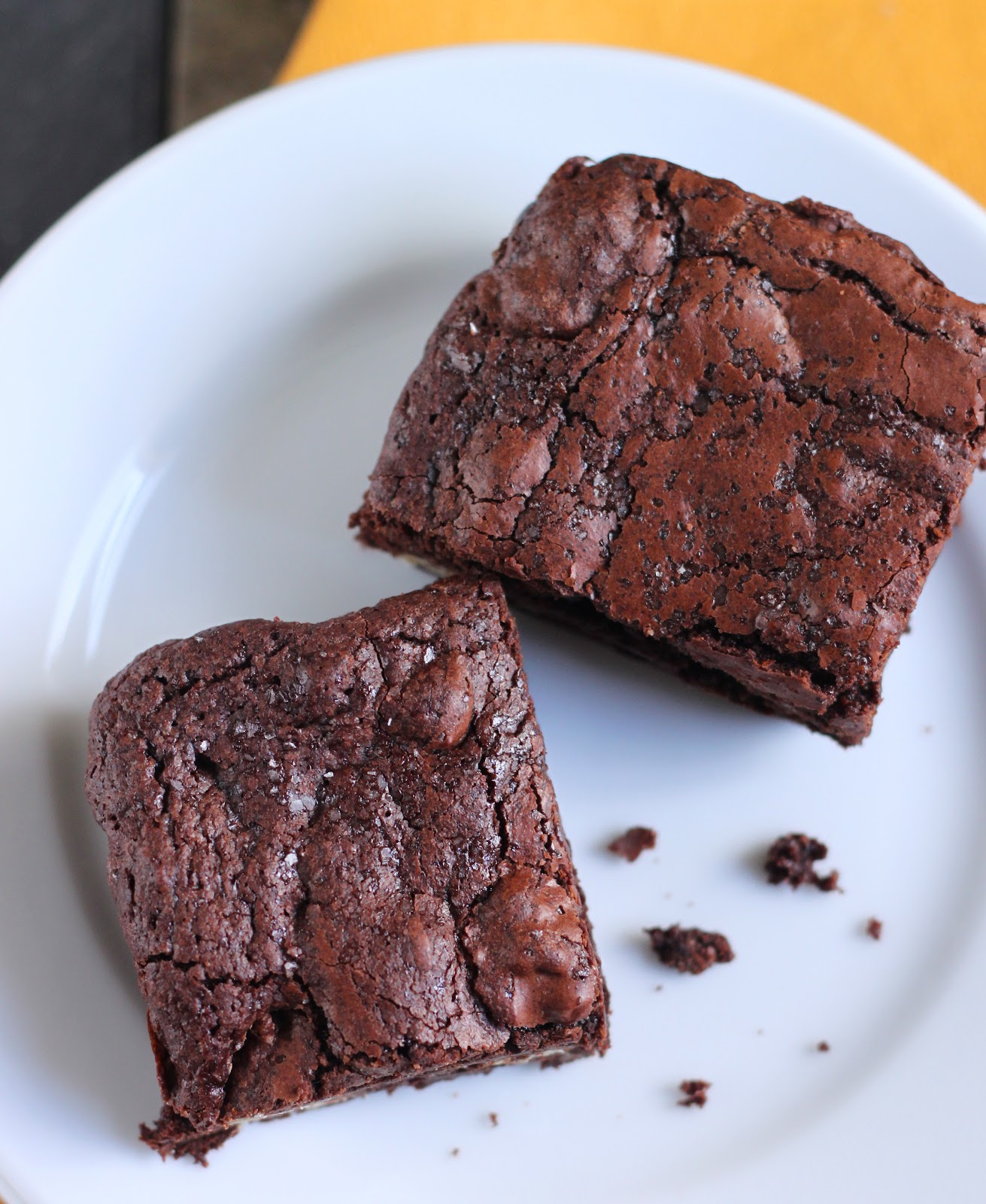 ... : Cocoa Brownies with Browned Butter... Best-Ever Brownies