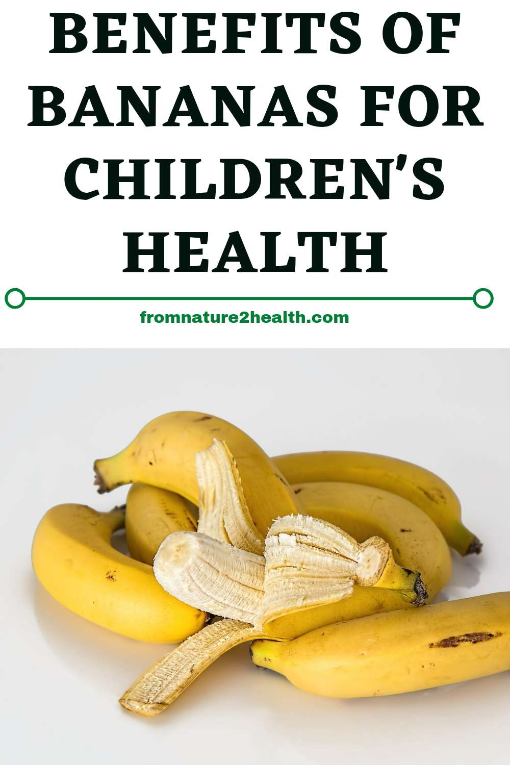 Benefits of Bananas for Children's Health