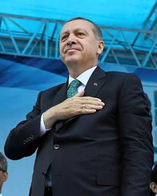 Pidato Erdoğan di hadapan ribuan rakyat Turki selepas merayakan kejayaan mempertahankan demokrasi Turki dari rampasan kuasa tentera