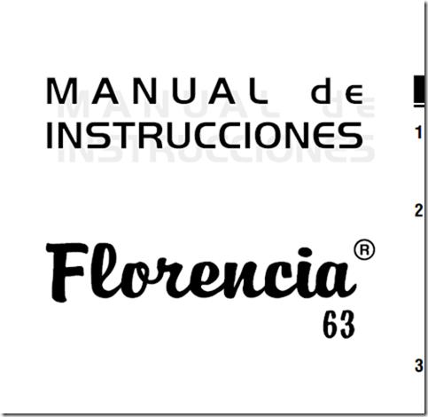 gratis manual singer florencia 63