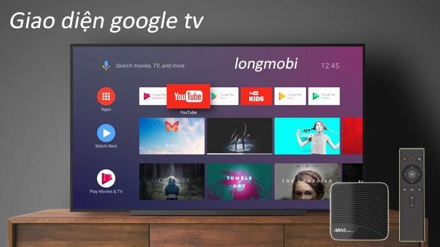 tv box chay google tv