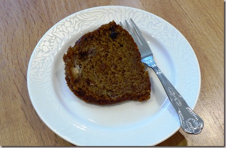 pumpkin and banana cake8