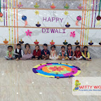 Diwali Celebration of Nursery Evening Section at Witty World, Chikoowadi (2017-18)