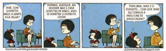 Clube da Mafalda:  Tirinha 748