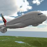 Air Plane Bus Pilot Simulator Icon