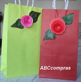 Venezuela m s modelos de bolsas artesanales para cotill n - Bolsas de regalo personalizadas ...