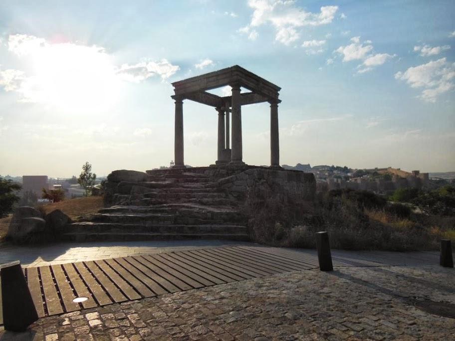 Qué ver y hacer en Ávila. Mirador de los Cuatro Postes