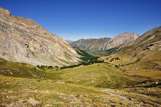 Traversée des Alpes, du lac Léman à la Méditerranée Gr5-briancon-mediterranee-vallon-plate-lombarde-3