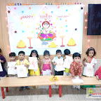GANESH CHATURTHI CELEBRATION BY PLAYGROUP SECTION (2017-18) AT WITTY WORLD, BANGUR NAGAR