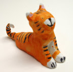 Clay Tiger by Yeshika