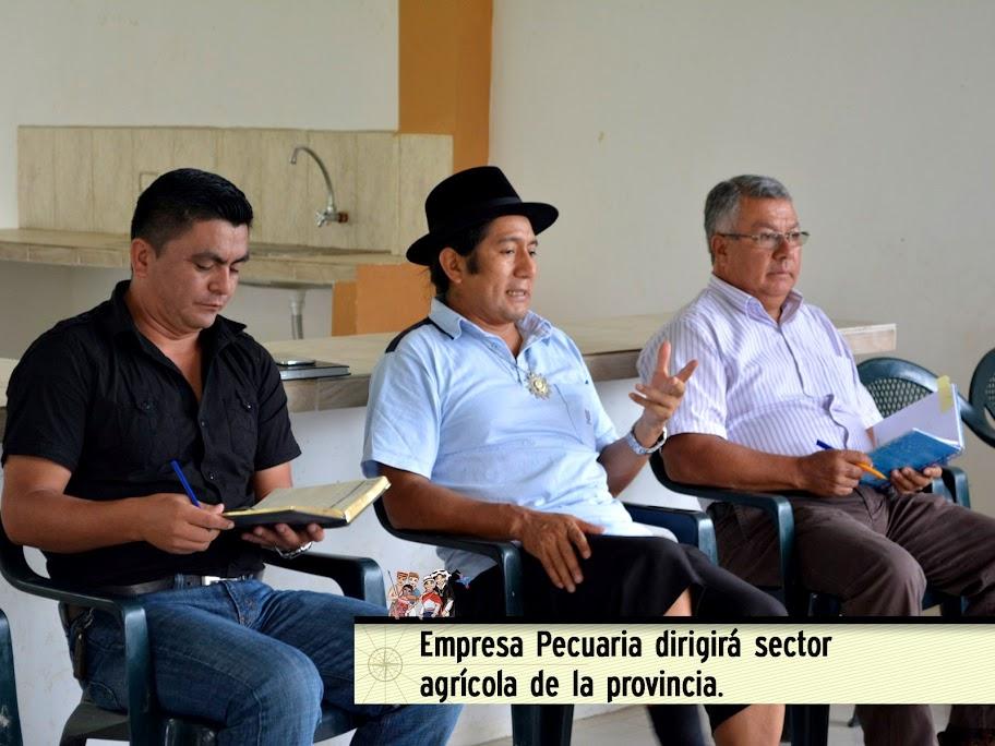 EMPRESA PECUARIA DIRIGIRÁ SECTOR AGRÍCOLA DE LA PROVINCIA