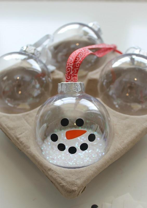 snowman ornament 7